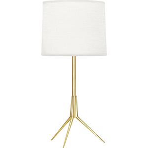 Martin Modern Brass 20-Inch One-Light Table Lamp