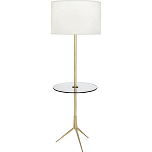 Martin Modern Brass 60-Inch One-Light Floor Lamp