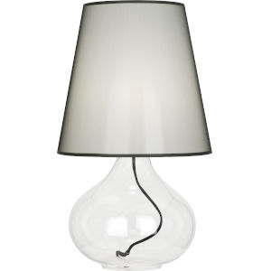 June Clear Glass Body One-Light Table Lamp