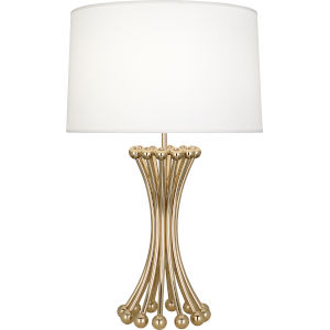 Jonathan Adler Biarritz Polished Brass One-Light Table Lamp