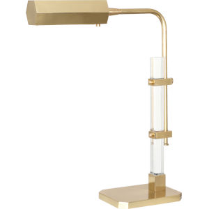 Plexus Modern Brass One-Light LED Table Lamp