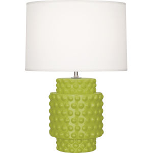 Dolly Apple Glazed Textured Ceramic One-Light Accent Lamp
