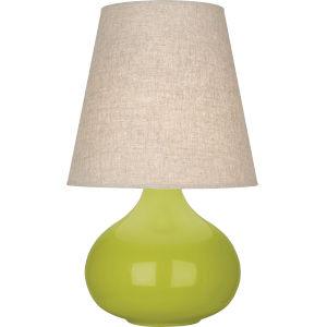 June Apple Glazed Ceramic One-Light Accent Lamp