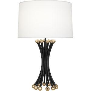 Jonathan Adler Biarritz Blackened Metal One-Light Table Lamp