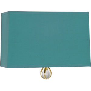 Williamsburg Custis Modern Brass One-Light Wall Sconce