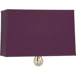 Williamsburg Custis Modern Brass One-Light Wall Sconce
