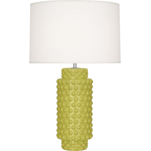 Dolly Citron Glazed One-Light Table Lamp