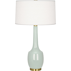Delilah Celadon Glazed Ceramic 34-Inch One-Light Table Lamp