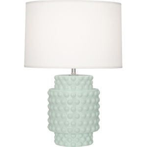 Dolly Celadon Glazed One-Light Accent Lamp