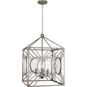 Fineas Dark Antique Nickel Four-Light Pendant