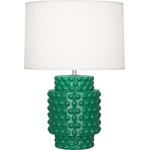 Dolly Emerald Glazed One-Light Accent Lamp