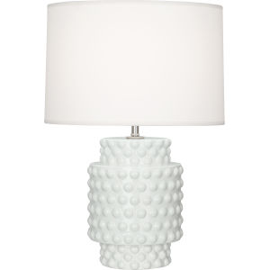 Dolly Lily Glazed Textured Ceramic 21-Inch One-Light Table Lamp