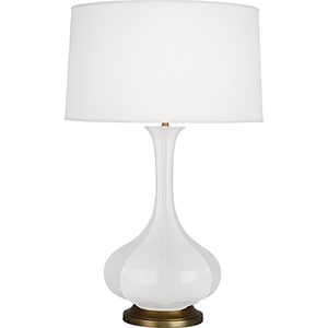 Pike Lily Glazed Ceramic 32-Inch One-Light Table Lamp