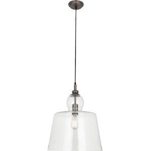 Albert Patina Nickel One-Light Pendant