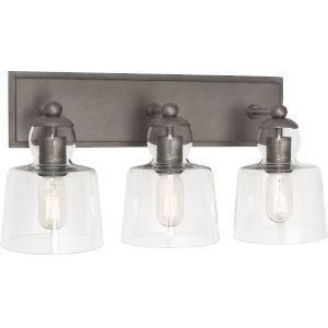Albert Patina Nickel Three-Light Wall Sconce
