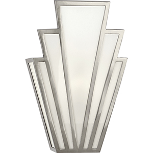 Empire Antique Silver  Seven-Inch One-Light Wall Sconce