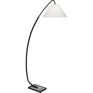 Curtis Deep Patina Bronze with Dark Antique Nickel Accents 70-Inch One-Light Floor Lamp
