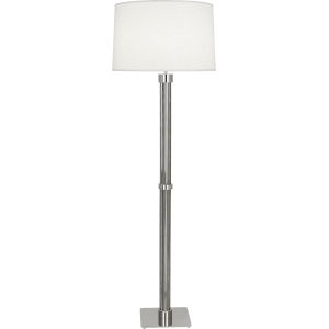 Todd Polished Nickel One-Light Floor Lamp