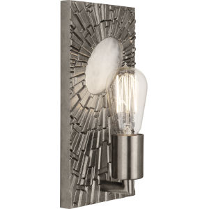 Goliath Polished Nickel One-Light Wall Sconce