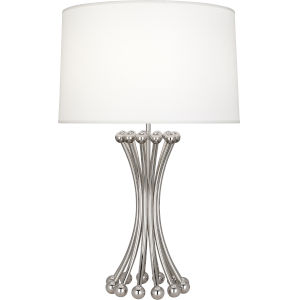 Jonathan Adler Biarritz Polished Nickel One-Light Table Lamp