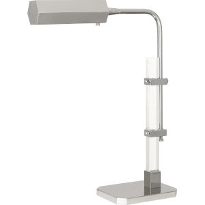 Plexus Polished Nickel One-Light LED Table Lamp