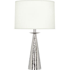 Dal Polished Nickel 23-Inch One-Light Table Lamp