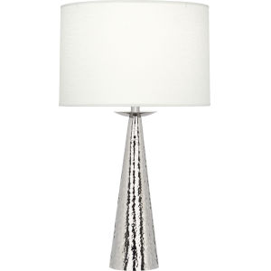 Dal Polished Nickel 30-Inch One-Light Table Lamp