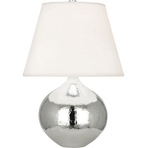Dal Polished Nickel 19-Inch One-Light Table Lamp