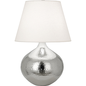 Dal Polished Nickel 27-Inch One-Light Table Lamp