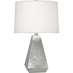 Dal Polished Nickel 25-Inch One-Light Table Lamp