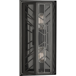 Octavius Deep Patina Bronze  Seven-Inch Two-Light Wall Sconce