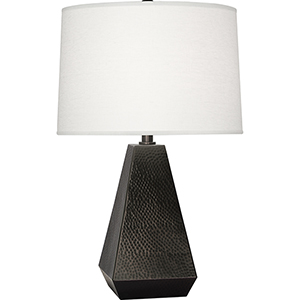 Dal Deep Patina Bronze 25-Inch One-Light Table Lamp
