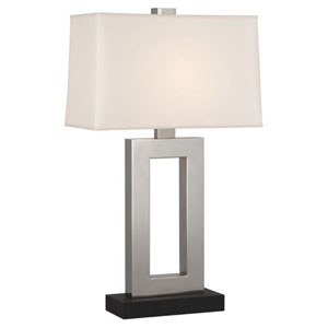 Doughnut Antique Silver 29.5-Inch One Light Table Lamp