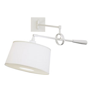 Real Simple Stardust White One-Light Wall Swinger