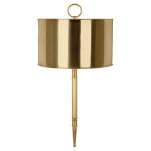 Porter Antique Brass Two-Light Sconce