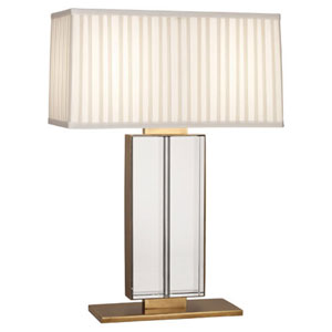 Sloan Aged Brass Two-Light Table Lamp