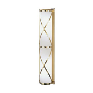 Chase Antique Brass Four-Light Bath Sconce