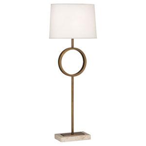 Logan Aged Brass One-Light Table Lamp