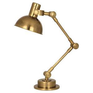 Rico Espinet Scout Antique Brass One-Light Desk Lamp