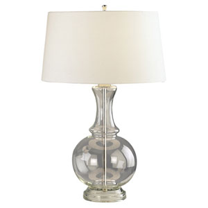 Glass Harriet Clear Glass One-Light Table Lamp