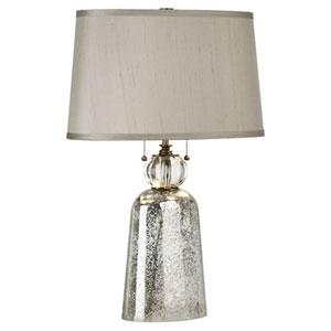 Gossamer Mercury Glass Two-Light Table Lamp
