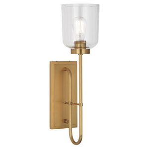 Williamsburg Tyrie Antique Brass One-Light Sconce