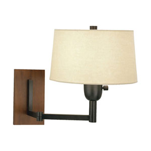Wonton Deep Patina Bronze One-Light Wall Swinger