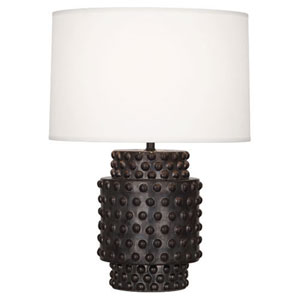 Dolly Gunmetal Ceramic Glaze 21.5-Inch One Light Table Lamp