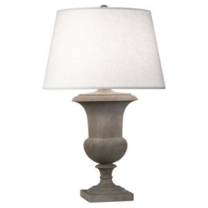 Helena Faux Limestone One-Light Table Lamp