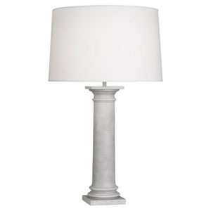 Phoebe Painted Faux Concrete One-Light Table Lamp