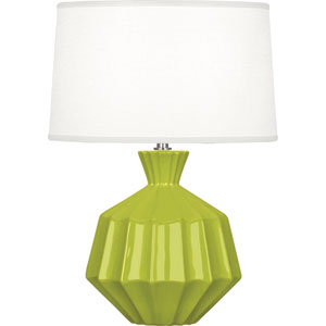 Orion Apple One-Light 17-Inch Ceramic Table Lamp