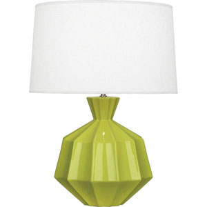 Orion Apple One-Light 27-Inch Ceramic Table Lamp