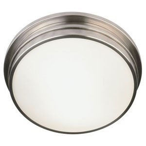 Roderick Antique Silver Two-Light Flush Mount