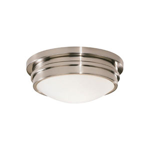 Roderick Antique Silver One-Light Flush Mount